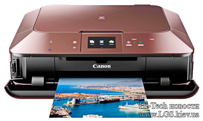 Canon MG7150 - лучший струйный принтер 2014 года